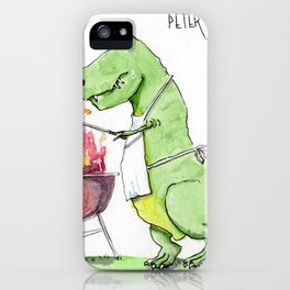 Peter Hates BBQ iPhone Case