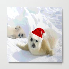 Save Me | Christmas Spirit Metal Print