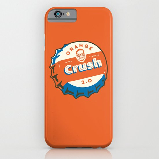Denver's Orange Crush Defense TWO POINT OH! iPhone & iPod Case