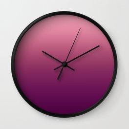 Rose Gradient Wall Clock