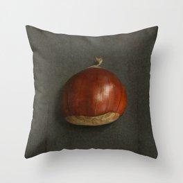 Little Chestnuts Throw Pillow