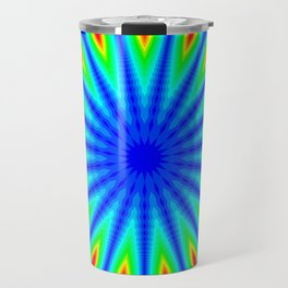 """Blue Flame"" Travel Mug"