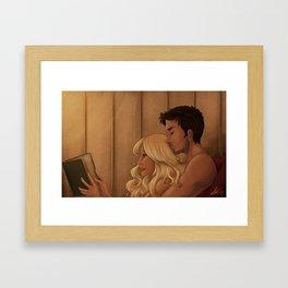 A Proper Date Framed Art Print