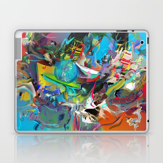 Microcrystalline Tendrils Laptop & iPad Skin