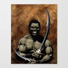 Half-Orc Canvas Print