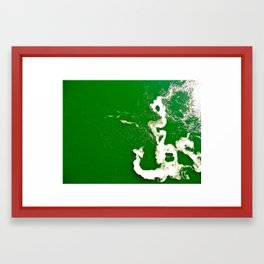 Cold Water Framed Art Print