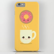 Coffee and Donut Buds iPhone 6 Plus Slim Case
