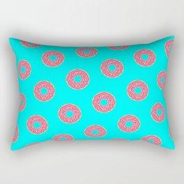 The Donut Pattern Rectangular Pillow