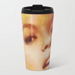 Jayne Mansfield, Vintage Hollywood Legend Travel Mug