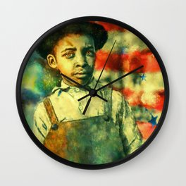 Face of Greatness Wall Clock