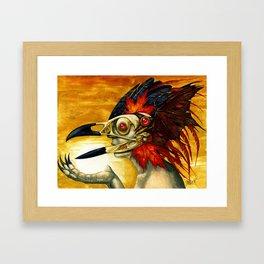 Raptor: Corvus Framed Art Print
