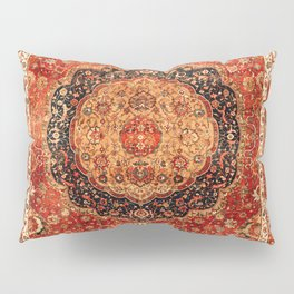 Seley 16th Century Antique Persian Carpet Pillow Sham