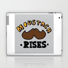moustach rises Laptop & iPad Skin