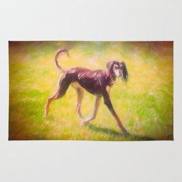 Walk the dog by Brian Vegas Rug