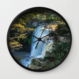 Rainbow Falls river morning sunrise Kerikeri Colorado United States Wall Clock