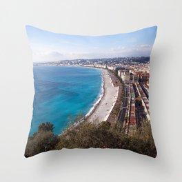 Nice France 6071 Throw Pillow