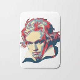 Beethoven Pop Art Bath Mat