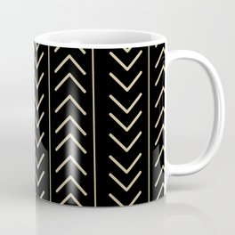 Mudcloth Black Coffee Mug