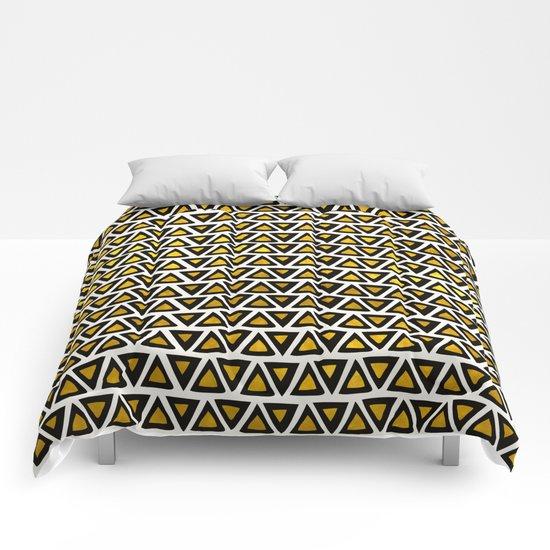 Aztec Gold Empire Comforters