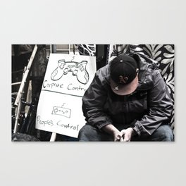 Corp. Control Canvas Print