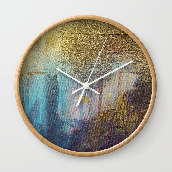 Moment of Peace Wall Clock