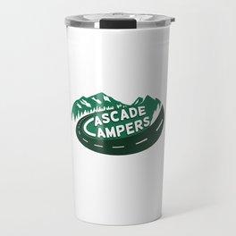 Cascade Campers Logo Travel Mug