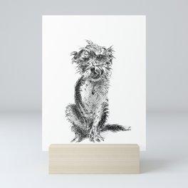 Poppy the Dog Mini Art Print