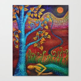 Dream in Autumn Canvas Print