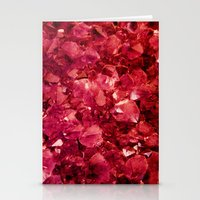 ruby Stationery Cards featuring Ruby by Lotus Effects