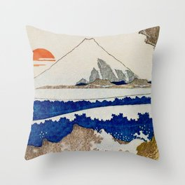The Coast Searching Throw Pillow