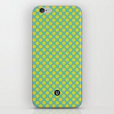 U1: happy dots iPhone & iPod Skin