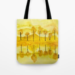 Warm Reflections Tote Bag