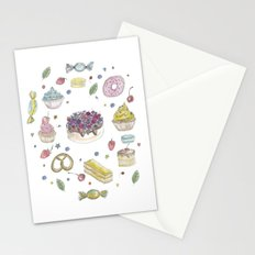 Sweet cake Stationery Cards