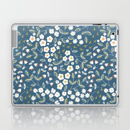 Ditsy Blue Laptop & iPad Skin
