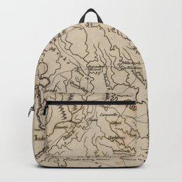 Vintage Map of Georgia (1816) Backpack