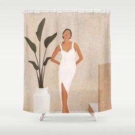 That Summer Feeling III Shower Curtain