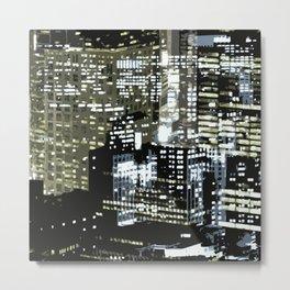 Night City 1 Metal Print