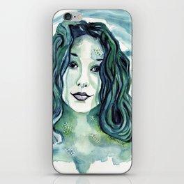 Maybe I'm A Mermaid (Tori Amos inspired art) iPhone Skin