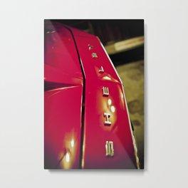 Shelby Cobra - Part of the Vintage Car Series Metal Print