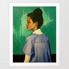 Georgina Art Print