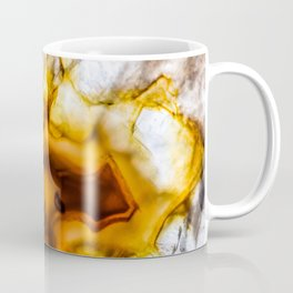 Honey Amber Agate frozen in time Coffee Mug