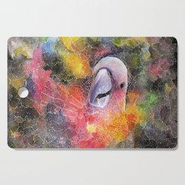 Nebula Cacatuidae Cutting Board