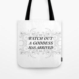 A Goddess Tote Bag