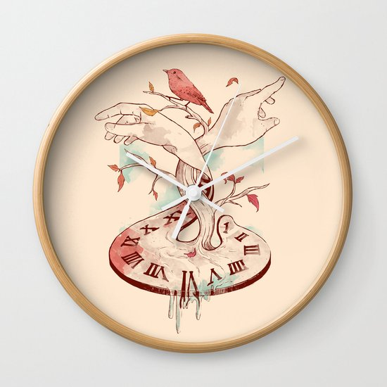 Hands of Time Wall Clock