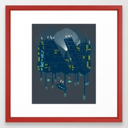 Nowhere Else to Go Framed Art Print