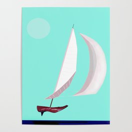 May Flying or Sailing in May - shoes stories Poster