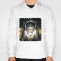 astronaut Hoodies featuring Astronaut by J ō v