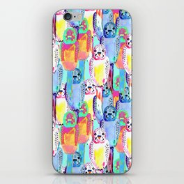 Busy budgies iPhone Skin
