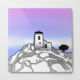 Black Elk Peak Metal Print