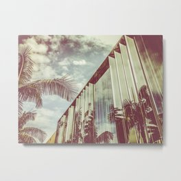 Beverly Hills - Palm Reflections III Metal Print